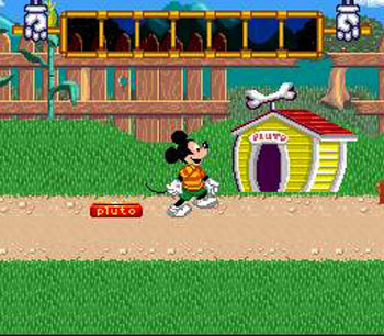 Pantallazo del juego online Mickey's Playtown Adventure - A Day of Discovery (Snes)