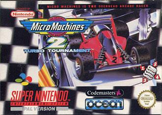 Juego online Micro Machines 2: Turbo Tournament (SNES)