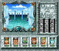 Pantallazo del juego online Might and Magic III - Isles of Terra (Snes)