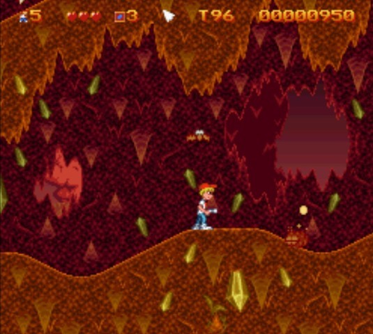 Pantallazo del juego online Mighty Max (Snes)
