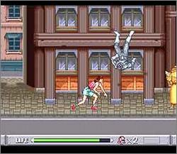 Pantallazo del juego online Mighty Morphin Power Rangers (Snes)