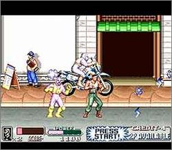 Pantallazo del juego online Mighty Morphin Power Rangers - The Movie (Snes)
