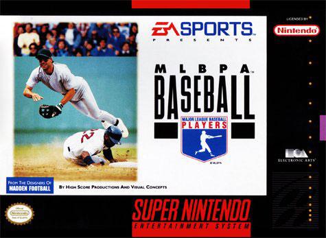 Portada de la descarga de MLBPA Baseball