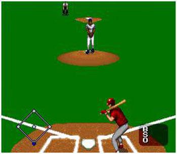 Pantallazo del juego online MLBPA Baseball (Snes)