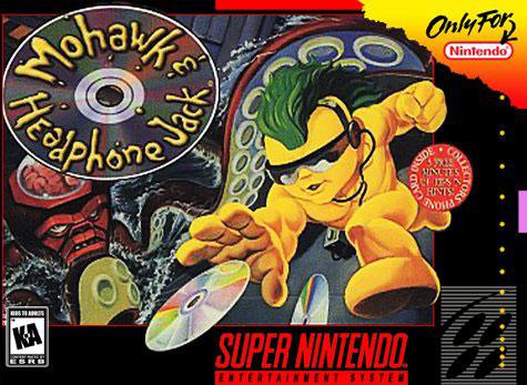 Carátula del juego Mohawk and Headphone Jack (Snes)