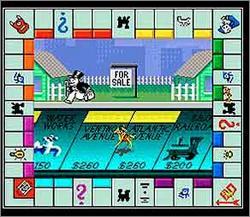Pantallazo del juego online Monopoly (Snes)