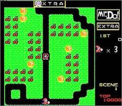 Pantallazo del juego online Mr Do (Snes)