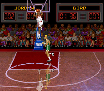 Pantallazo del juego online NBA All-Star Challenge (Snes)