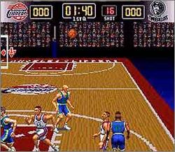 Pantallazo del juego online NBA Give 'N Go (Snes)