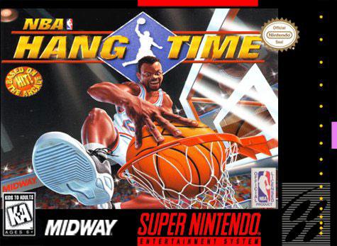 Carátula del juego NBA HangTime (Snes)