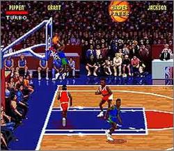 Pantallazo del juego online NBA Jam (Snes)