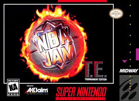Carátula del juego NBA Jam Tournament Edition (Snes)