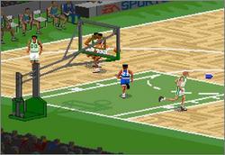 Pantallazo del juego online NBA Live 95 (Snes)
