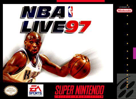 Carátula del juego NBA Live 97 (Snes)
