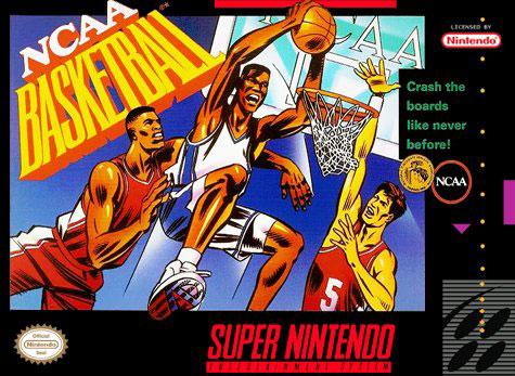 Carátula del juego NCAA Basketball (Snes)