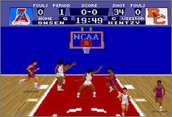 Pantallazo del juego online NCAA Basketball (Snes)