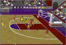 Pantallazo del juego online NCAA Final Four Basketball (Snes)