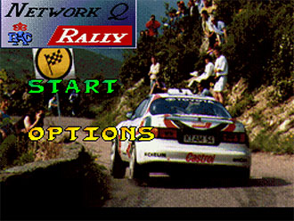 Juego online Network Q RAC Rally (SNES)