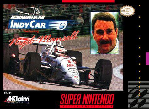 Carátula del juego Newman Haas IndyCar - Featuring Nigel Mansell (Snes)