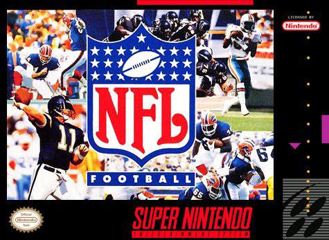 Carátula del juego NFL Football (Snes)