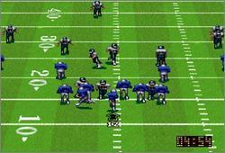 Pantallazo del juego online NFL Quarterback Club (Snes)