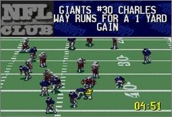 Pantallazo del juego online NFL Quarterback Club '96 (Snes)