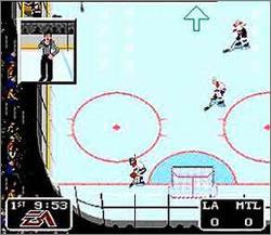Pantallazo del juego online NHL '94 (Snes)