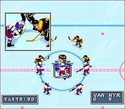 Pantallazo del juego online NHL 95 (Snes)