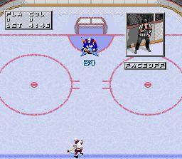 Pantallazo del juego online NHL 97 (Snes)