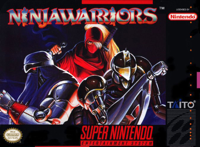 Carátula del juego Ninja Warriors (Snes)
