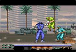 Pantallazo del juego online Ninja Warriors (Snes)
