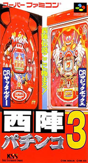 Juego online Nishijin Pachinki Monogatari 3 (SNES)