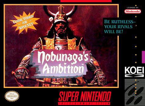 Portada de la descarga de Nobunaga's Ambition