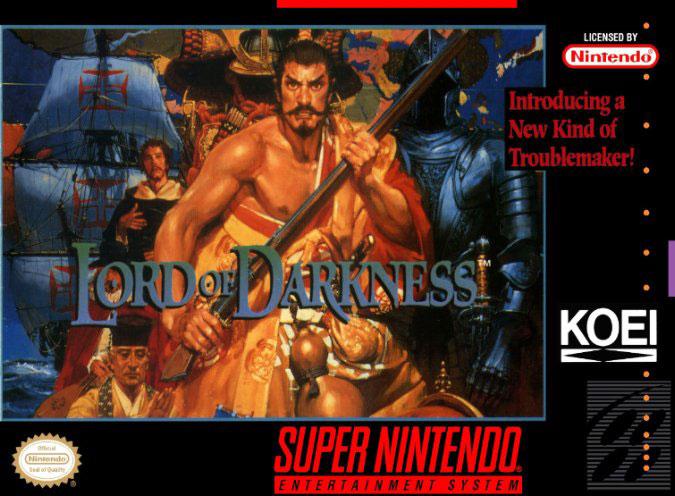 Carátula del juego Nobunaga's Ambition - Lord of Darkness (Snes)