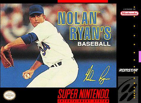 Carátula del juego Nolan Ryan's Baseball (Snes)