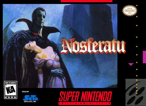 Carátula del juego Nosferatu (Snes)