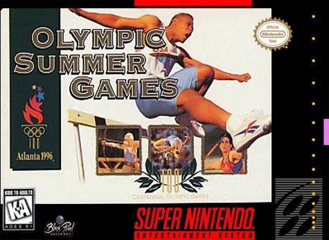 Carátula del juego Olympic Summer Games (Snes)