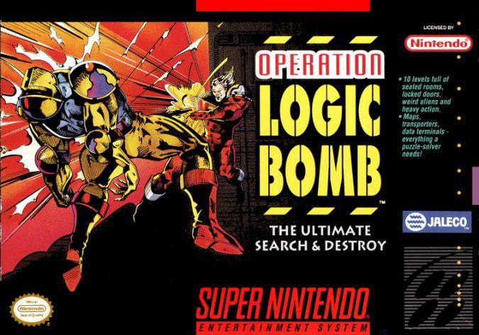 Carátula del juego Operation Logic Bomb (Snes)