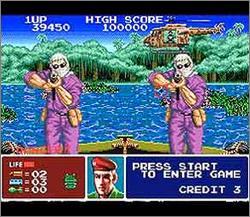 Pantallazo del juego online Operation Thunderbolt (Snes)
