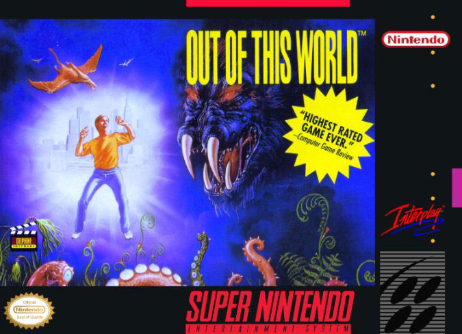 Carátula del juego Out of This World (Snes)