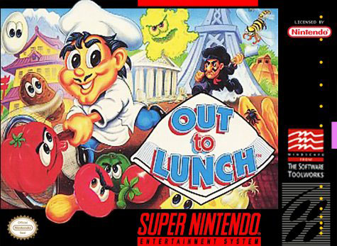 Carátula del juego Out to Lunch (Snes)