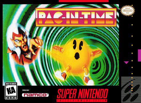 Carátula del juego Pac-In-Time (Snes)
