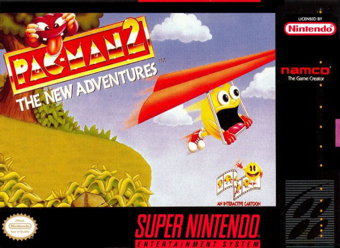 Carátula del juego Pac-Man 2 - The New Adventures (Snes)