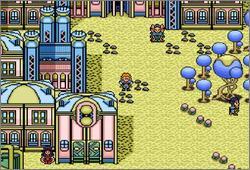 Pantallazo del juego online Paladin's Quest (Snes)