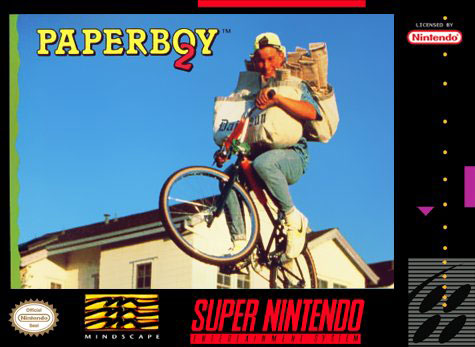 Carátula del juego Paperboy 2 (Snes)