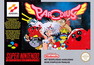 Juego online Parodius: Non-Sense Fantasy (SNES)