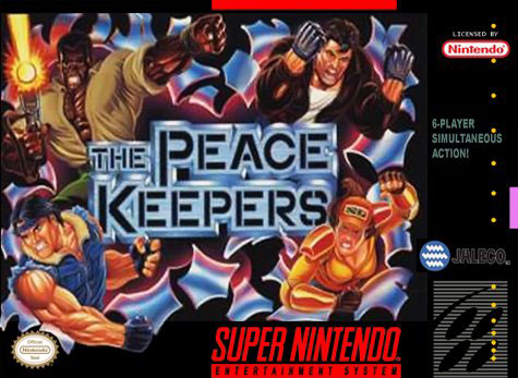 Carátula del juego The Peace Keepers (Snes)