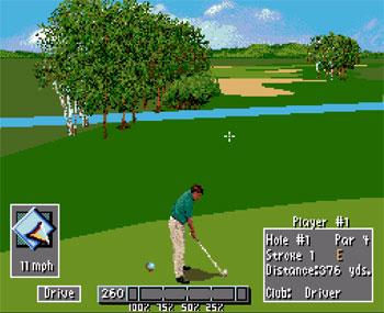 Pantallazo del juego online PGA Tour 96 (Snes)