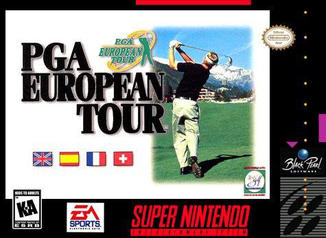 Carátula del juego PGA European Tour (Snes)