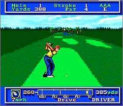 Pantallazo del juego online PGA Tour Golf (Snes)